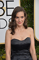 Winona Ryder at the 74th Golden Globe Awards  at The Beverly Hilton Hotel, Los Angeles USA 8th January  2017<br /> Picture: Paul Smith/Featureflash/SilverHub 0208 004 5359 sales@silverhubmedia.com