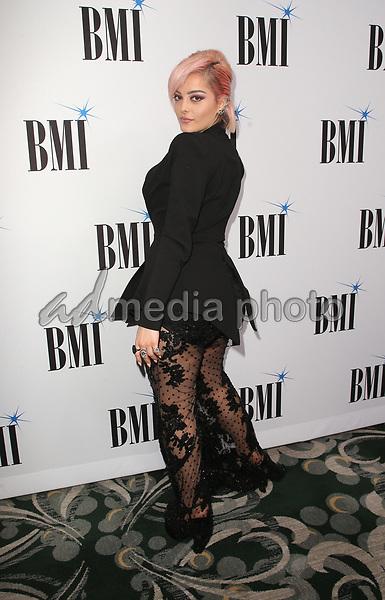 14 May 2019 - Beverly Hills, California - Bebe Rexha. 67th Annual BMI Pop Awards held at The Beverly Wilshire Four Seasons Hotel. Photo Credit: Faye Sadou/AdMedia