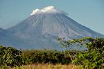 San Cristobal, a volcano in Nicaragua.