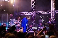 RIO DE JANEIRO, RJ, 15.12.2018 - SHOW-RJ - O cantor e compositor Roberto Carlos, durante show realizado no Maracanãzinho, no Rio de Janeiro, neste sábado, 15. (Foto: Gustavo Serebrenick/Brazil Photo Press)