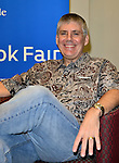 MIAMI, FL - OCTOBER 10: Author Rick Riordan speak about his new book 'MAGNUS CHASE & THE GODS OF ASGARD, BOOK 1, THE SWORD OF SUMMER' to a full house Presented by Books & Books in collaboration with The Center for Literature & Writing at Miami Dade College Chapman Conference Center on Saturday October 10, 2015 in Miami, Florida.  ( Photo by Johnny Louis / jlnphotography.com )
