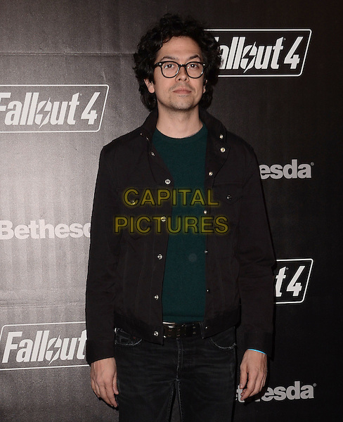 05 November - Los Angeles, Ca - Geoffrey Arend. Arrivals for the official launch party of the video game &quot;Fallout 4&quot; held at a private location in Downtown LA.  <br /> CAP/ADM/BT<br /> &copy;BT/ADM/Capital Pictures
