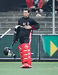 AMSTELVEEN - Jan de Wijkerslooth (A'dam)    tijdens  de  eerste finalewedstrijd van de play-offs om de landtitel in het Wagener Stadion, tussen Amsterdam en Kampong (1-1). Kampong wint de shoot outs.  . COPYRIGHT KOEN SUYK