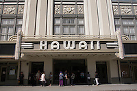 Historic Hawaii Theatre Building, Downtown Honolulu, Oahu, Hawaii