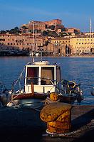 Italien, Elba, Portoferraio, Blick vom Hafen