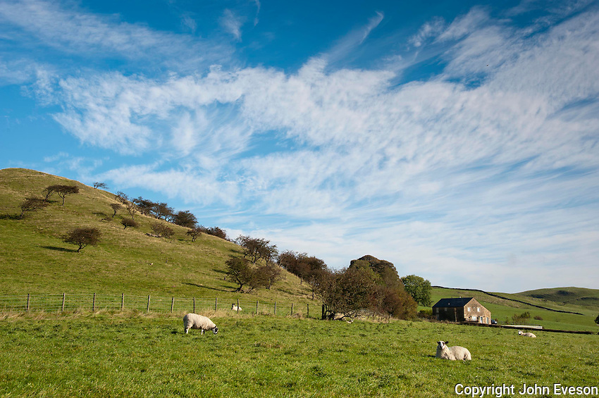 Cloudscape over Whitewell, Clitheroe, Lancashire