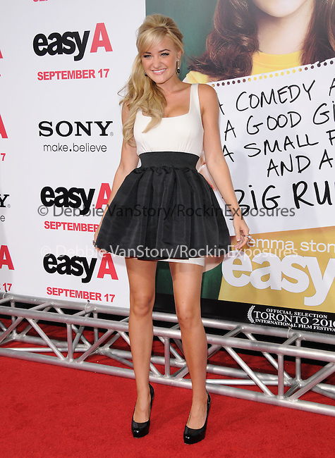 """AJ Michalka at the Screen Gems' L.A. Premiere of """"Easy A"""" held at The Grauman's Chinese Theatre in Hollywood, California on September 13,2010                                                                               © 2010 Hollywood Press Agency"""