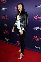 """LOS ANGELES - OCT 2:  Francesca Eastwood at the """"M.F.A."""" Premiere at the The London West Hollywood on October 2, 2017 in West Hollywood, CA"""