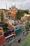 Istanbul, Turkey, Aya Sofya, mosque, Cankurtaran neighborhood,  old Stamboul, street scene, Sultanahmet district,
