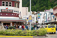 Downtown, Juneau, Alaska, USA