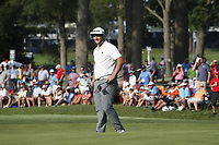 Jon Rahm (ESP) putts on the 17th hole during the third round of the 100th PGA Championship at Bellerive Country Club, St. Louis, Missouri, USA. 8/11/2018.<br /> Picture: Golffile.ie | Brian Spurlock<br /> <br /> All photo usage must carry mandatory copyright credit (&copy; Golffile | Brian Spurlock)