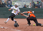A photograph from the NIAA 4A Northern Regional Softball Championship at Bishop Manogue High School in Reno, Nevada on Saturday, May 12, 2018.