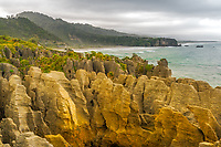The Pancake Rocks of Punakaiki is just a short paved walk from the main highway.