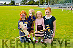 Eppie Collins, Donnacha Hartnett, Aveen Collins and Danielle Griffin enjoying the NA GAEIL GAA, family fun day on Sunday