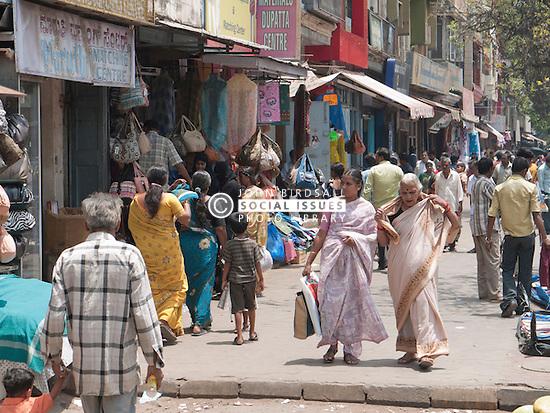 Street scene in central Mysore.