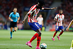 Atletico de Madrid's Thomas Partey during La Liga match. Aug 18, 2019. (ALTERPHOTOS/Manu R.B.)Atletico de Madrid's Thomas Partey  during the Spanish La Liga match between Atletico de Madrid and Getafe CF at Wanda Metropolitano Stadium in Madrid, Spain