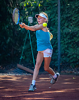Hilversum, Netherlands, August 6, 2018, National Junior Championships, NJK, Isis van Dinter (NED)<br /> Photo: Tennisimages/Henk Koster
