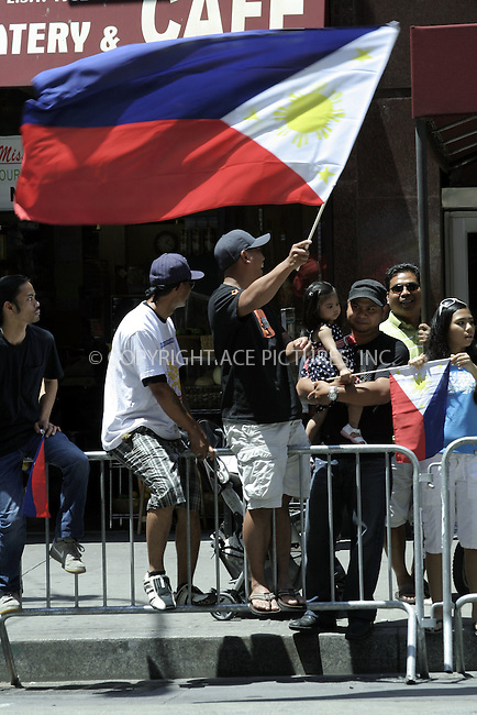 WWW.ACEPIXS.COM . . . . .  ....June 7, 2009. New York City.....The atmospher at the 2009 Philippine Independence Day Parade on June 7, 2009 in New York City.......Please byline: Joanne Juele - ACEPIXS.COM.... *** ***..Ace Pictures, Inc:  ..Philip Vaughan (646) 769 0430..e-mail: info@acepixs.com..web: http://www.acepixs.com