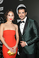 SANTA MONICA, CA - JANUARY 6: Cara Santana and Jesse Metcalfe at Art of Elysium's 11th Annual HEAVEN Celebration at Barker Hangar in Santa Monica, California on January 6, 2018. <br /> CAP/MPI/FS<br /> &copy;FS/MPI/Capital Pictures