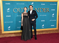 "13 February 2020 - Los Angeles, California - Caitriona Balfe, Sam Heughan. ""Outlander"" Season 5 Los Angeles Premiere held at the Hollywood Palladium. Photo Credit: Birdie Thompson/AdMedia"