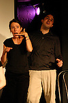 The Royal We at at Sketchfest NYC, 2009. Sketch Comedy Festival at the Upright Citizen's Brigade Theatre, New York City.