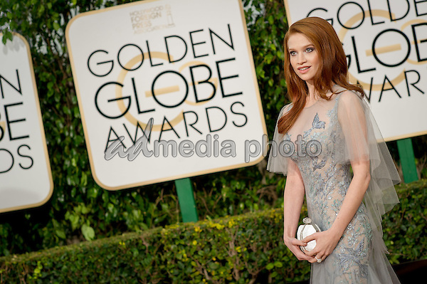 "Sarah Hay, Golden Globe Nominee in the category of BEST PERFORMANCE BY AN ACTRESS IN A LIMITED SERIES OR A MOTION PICTURE MADE FOR TELEVISION for her role ""Flesh & Bone"", arrives at the 73rd Annual Golden Globe Awards at the Beverly Hilton in Beverly Hills, CA on Sunday, January 10, 2016. Photo Credit: HFPA/AdMedia"