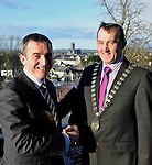 6-3-2012: Michael Vaughan, Vaughans Lodge, Lahinch, County Clare who was elected President of the Irish Hoteliers Association in Kilkenny on Tuesday..Picture by Don MacMonagle..free pr photo from IHF