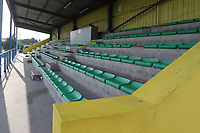 General view of the main stand during Haringey Borough vs Corinthian Casuals, BetVictor League Premier Division Football at Coles Park Stadium on 10th August 2019