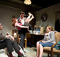 Ecstasy, written and diected by Mike Leigh. With Craig Parkinson as Len, Sinead Matthews as Dawn, Allen Leech as Mick, Sian Brooke as Jean . Opens at The Hampstead  Theatre  on 15/3/11 . CREDIT Geraint Lewis