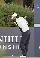 Alejandro Canizares (ESP) on the 12th tee during Round 3 of the 2015 Alfred Dunhill Links Championship at Kingsbarns in Scotland on 3/10/15.<br /> Picture: Thos Caffrey | Golffile
