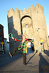St. Patricks Day Parade Committee promoting the Parade...Photo NEWSFILE/Jenny Matthews.(Photo credit should read Jenny Matthews/NEWSFILE)....This Picture has been sent you under the condtions enclosed by:.Newsfile Ltd..The Studio,.Millmount Abbey,.Drogheda,.Co Meath..Ireland..Tel: +353(0)41-9871240.Fax: +353(0)41-9871260.GSM: +353(0)86-2500958.email: pictures@newsfile.ie.www.newsfile.ie.FTP: 193.120.102.198.