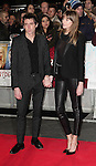 NON EXCLUSIVE PICTURE: MATRIXPICTURES.CO.UK<br /> PLEASE CREDIT ALL USES<br /> <br /> WORLD RIGHTS<br /> <br /> English musician Miles Kane attending the UK Premiere of Mortdecai at Empire Leicester Square, in London.<br /> <br /> JANUARY 19th 2015<br /> <br /> REF: GBH 15182