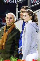 Nelson Pessoa / Athina Onassis et son mari Alvaro de Miranda <br /> Parigi 05-12-2013 Gucci Masters Equitazione <br /> Celebrities Event <br /> Foto Gwendoline Le Goff Panoramic / Insidefoto
