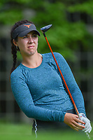 Sophia Schubert (a)(USA) watches her tee shot on 14 during round 2 of the U.S. Women's Open Championship, Shoal Creek Country Club, at Birmingham, Alabama, USA. 6/1/2018.<br /> Picture: Golffile | Ken Murray<br /> <br /> All photo usage must carry mandatory copyright credit (&copy; Golffile | Ken Murray)
