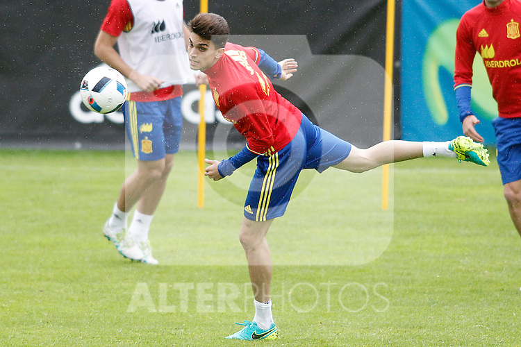 Spain's Marc Bartra during preparing training stage to Euro 2016. May 30,2016.(ALTERPHOTOS/Acero)