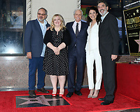 LOS ANGELES - NOV 6:  Al Higgins, Sarah Baker, Michael Douglas, Lisa Edelstein, Chuck Lorre at the Michael Douglas Star Ceremony on the Hollywood Walk of Fame on November 6, 2018 in Los Angeles, CA