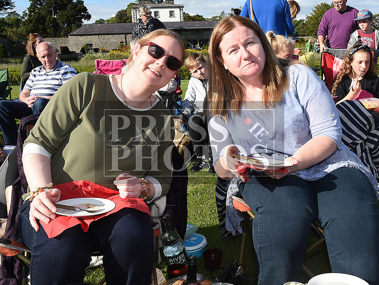 Claire Doyle and Michelle Saurin at the Chapterhouse Theatre Company's performance of The Wind in the Willows at Oldbridge Estate. Photo:Colin Bell/pressphotos.ie