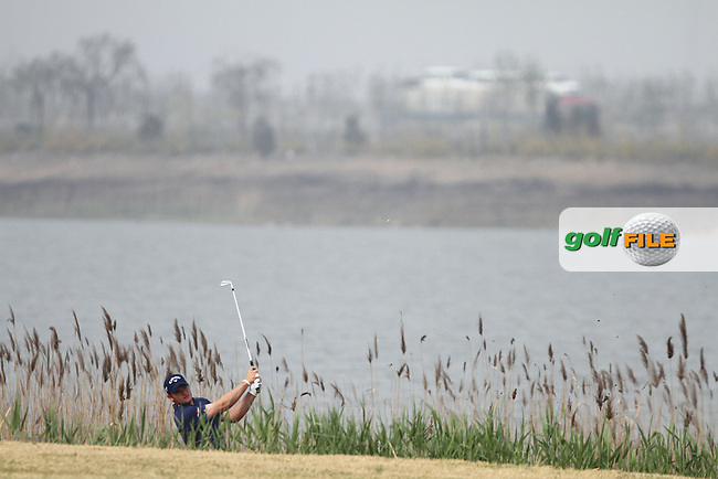 Gary Boyd (ENG) on the 17th on the Final Day of the 2012 Volvo China Open at Binhai Lake Golf Club, Tianjin, China...(Photo Jenny Matthews/www.golffile.ie)
