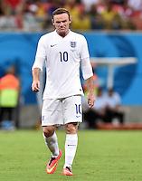 FUSSBALL WM 2014  VORRUNDE    Gruppe D     England - Italien                         14.06.2014 Wayne Rooney (England)