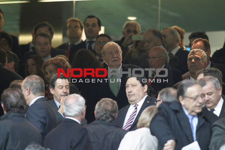 Spanish Royals during Real Madrid's against Atletico de Madrid's spanish KIng's Cup Final match.May 17,2013. Foto © nph / Acero)