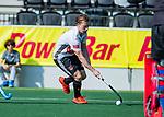 AMSTELVEEN - Rik van Kan (Adam)  tijdens  de hoofdklasse competitiewedstrijd hockey heren,  Amsterdam-SCHC (3-1).  COPYRIGHT KOEN SUYK