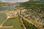 Aerial View of Hood River, Oregon