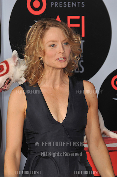 "Jodie Foster at AFI's Night at the Movies event at the Arclight Theatre, Hollywood..She presented her movie ""The Silence of the Lambs"".October 1, 2008  Los Angeles, CA.Picture: Paul Smith / Featureflash"