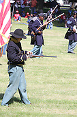 Parcicipants were transported back in time to the 1869 Battle of Nashville Saturday afternoon as the DuSable Museum hosted the 2nd annual Civil War Family Day in Washington Park.<br /> <br /> Union Soldiers