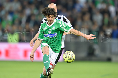 20.04.2015. St Etienne, France. 12th Football Match against Poverty took place in Saint-Etienne, France.   Sebastien Perez (ASSE all stars)