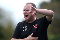 Saffron Walden manager Jason Maher during Redbridge vs Saffron Walden Town, Essex Senior League Football at Oakside Stadium on 7th September 2019