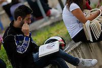 Universita gli studenti si sottopongono Test di ammisione alla facolta di Medicina<br /> nella fotoultima ripassata ai testi