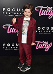 LOS ANGELES, CA - APRIL 18: Actor Asher Miles Fallica attends the Premiere Of Focus Features' 'Tully' at Regal LA Live Stadium 14 on April 18, 2018 in Los Angeles, California.