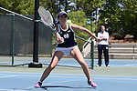 23 April 2015: Julie Vrabel. The Notre Dame University Fighting Irish played the Florida State University Seminoles at the Cary Tennis Park in Cary, North Carolina in a 2015 NCAA Division I Women's Tennis and Atlantic Coast Conference Tournament First Round match. Florida State won the match 4-3.