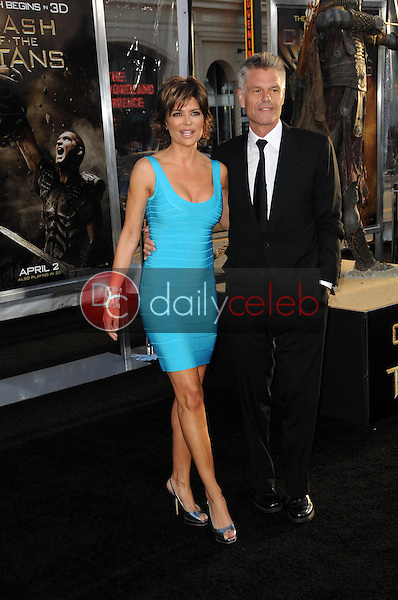 """Lisa Rinna and Harry Hamlin<br /> at the """"Clash Of The Titans"""" Los Angeles Premiere, Chinese Theater, Hollywood, CA. 03-31-10<br /> David Edwards/DailyCeleb.com 818-249-4998"""
